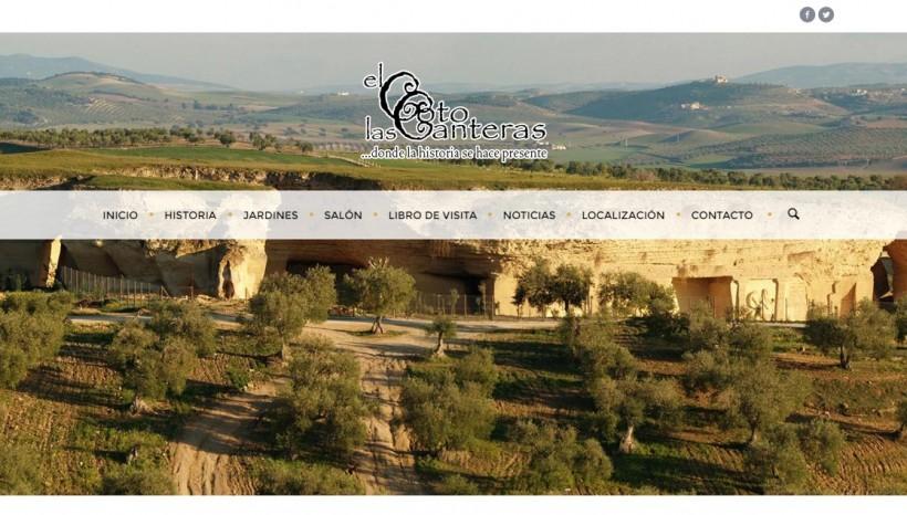 Nueva página del Coto Las Canteras